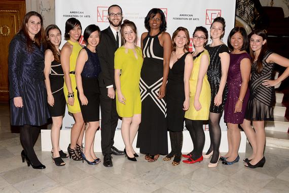 AFA Staff== American Federation of Arts Gala & Cultural Leadership Awards 2013== The Metropolitan Club, NYC== October 29, 2013== ©Patrick McMullan== Photo - Clint Spaulding/PatrickMcMullan.com== ==