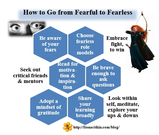 How to Go from Fearful to Fearless